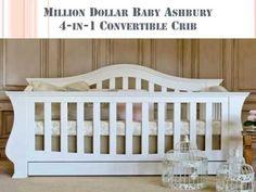 Million Dollar Baby Ashbury 4 in 1 Convertible Crib Guide & Reviews