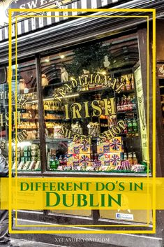 Dublin different do's - 21 options will give you some different ideas about what to see and where to go.