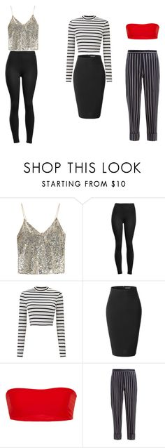 """Untitled #14"" by vanessa-blomerus on Polyvore featuring Alice + Olivia, Miss Selfridge, LE3NO and Thom Browne"
