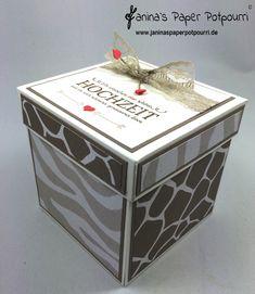 jpp - Safari Explosionsbox zur Hochzeit