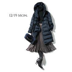 長引く鼻風邪には保温が一番!きれいめダウンなら通勤にもOK!Marisol ONLINE|女っぷり上々!40代をもっとキレイに。