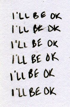 "It might not be the ""ok"" I was expecting, but I believe that I will survive. #chronic #illness #health #pain"