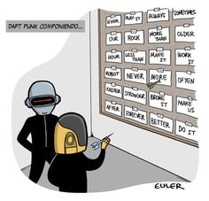 Daft Punk's lyric-deciding process