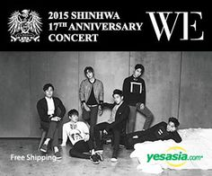 2015 #Shinhwa 17th Anniversary Concert We (2DVD + Photobook) #kpop -- Click on the pic to Order now~