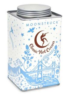 Find that nostalgic hot chocolate taste in Oregon-based Moonstruck's Classic Hot Cocoa, made of Dutch process cocoa powder that tastes creamy without being too sweet. And the tin is so pretty!! Read more: Best Hot Chocolate Mix - Hot Chocolate Brands - Redbook