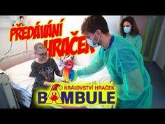 Předáváme Hračky Dětem v Nemocnici #1   Stáňa, Tary a Bambule - YouTube Parkour, Youtube, Youtubers, Youtube Movies