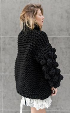 Items similar to Cuddle Up Sweater Winter Trend Wool Sweater Oversized on Etsy Knit Sweater Dress, Mohair Sweater, Crochet Cardigan, Thick Sweaters, Winter Sweaters, Wool Sweaters, Knit Fashion, Sweater Fashion, Turkish Fashion