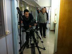 2ndo día de rodaje en Salesians de Sarrià. #slider #rodaje @salesianssarria @Bcnpress