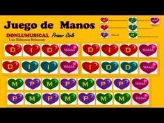 JUEGO DE PALMAS PRIMER CICLO Easy rythm game DONLUMUSICAL - YouTube