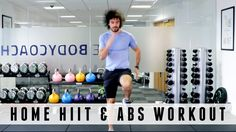 20 Minute Home HIIT & Abs Workout -great to get both done super quick!