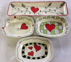 Bahia Art:  Handmade bowls with hand drawn detail and hand painted.