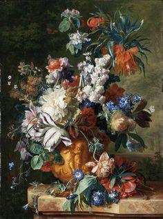 Bouquet em uma Urna