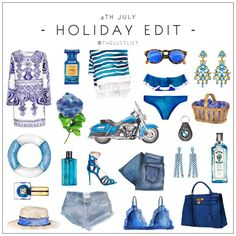 The Lust List: July 4th Holiday - Blue