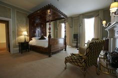 Quartet Rooms, exquisite, richly draped rooms all featuring four-poster beds, quintessentially English Room, Luxury, Luxury Hotel Room, Home Decor, Four Poster Bed, Four Poster, Bed, Luxurious Rooms, Luxury Hotel