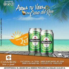 ATENCION LA CEIBA:: Esta semana lleva tu #Heineken Lata al 2x1 promoción valida hasta agotar existencias visitanos en barrio solares nuevos frente a casa rafael. #Armatuverano