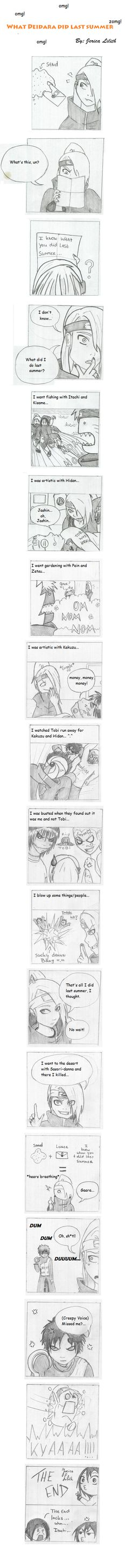 Deidara: Funny comic by JericaLilith on DeviantArt