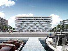 "BIG Unveils ""Honeycomb"" Condominium for Bahamas Resort"