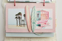 Scrap Sweet Scrap: California Dreamin` - Beach Day Minialbum Teil II