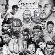 #Boxing Legends. www.titleboxingclub.com