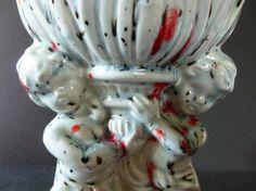 Vintage Large handmade Ceramic Cherub Vase or by Vintage42Day, $24.00