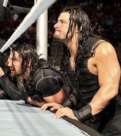 Seth and Roman Wwe Roman Reigns, Seth Rollins, Roman Reighns, The Shield Wwe, Daniel Bryan, Dean Ambrose, Dream Guy, Roman Empire, My Best Friend
