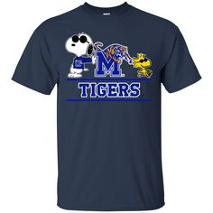 Memphis Tigers T shirts Snoopy Hoodies Sweatshirts