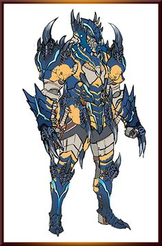 Armor, monster hunter, warrior, fighter, knight