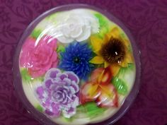 how to make edible gel roses - Google Search