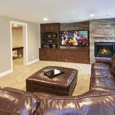 Basement Design Ideas, Pictures, Remodel and Decor