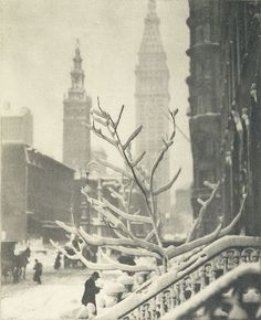 Two towers - New York 1913