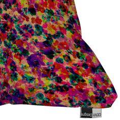 DENY Designs Amy Sia Floral Explosion Throw Pillow - Beachfront Decor