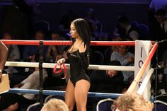 #boxing #event #model #ringgirl #ringside girl