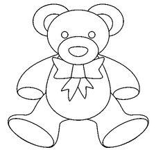 Dibujos De Muñecas Fáciles oso