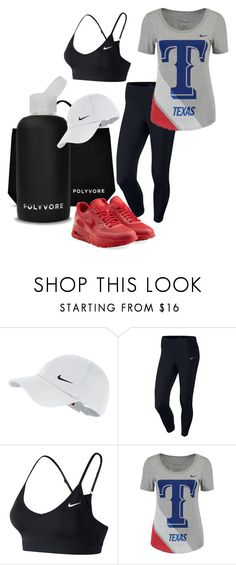 """""""#ContestOnTheGo #ContestEntry """"Texas-bama"""""""" by xyz-affairs ❤ liked on Polyvore featuring bkr, NIKE, contestentry and ContestOnTheGo"""