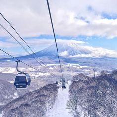 Quem gostava de esquiar no #Japão?  #Niseko #vscotravel #amazing_places_to_visit #amazing #ski #winter
