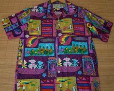 A Disney hawaiian shirt, I remember these shirts when visiting DisneyWorld in the late 70s.