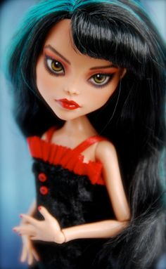 OOAK custom Monster High Doll Cleo de Nile by SkulletteDolls