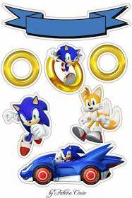 topo de bolo do sonic Sonic Birthday Cake, 2 Birthday, Sonic Birthday Parties, Hedgehog Birthday, Bolo Sonic, Sonic Cake, Sonic Party, Sonic Kuchen, Sonic The Hedgehog Cake