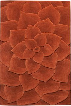 Corolla Area Rug - Wool Rugs - Contemporary Rugs - Rugs | HomeDecorators.com