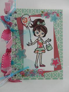 'Hey Girl' van Stampin'Up! door Stamp-ing Rilland. www.stamp-ing.blogspot.nl