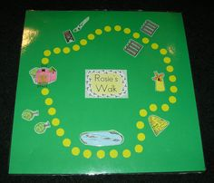 this post has some great ideas for creating simple, math-based board games inspired by children's books.
