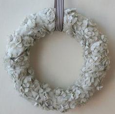 "Tea Garden Wreath - ""love this one too"" - FREE PATTERN"
