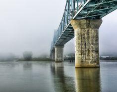 https://flic.kr/p/p3GRQg | New Madison Indiana Bridge | Captured on the Ohio River in Madison Indiana.