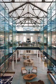 These amazing interiors by Yabu Ushelberg