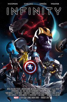 Marvel Infinity Teaser by Marko Djurdjevic
