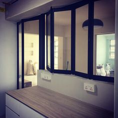 Make space with clever room divider, close off the kitchen with FLS ...