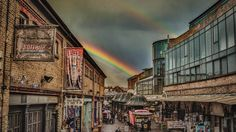 Rainbow over Camden Stables