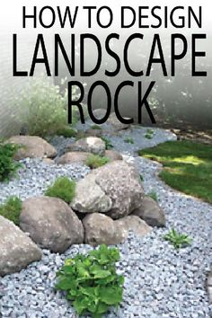 Learn professional tips on how to plan, install and position landscape rock. DIY your yard project now! Learn professional tips on how to plan, install and position landscape rock. DIY your yard project now! Landscaping With Rocks, Front Yard Landscaping, Landscaping Supplies, Landscaping Ideas, Landscaping Software, Landscaping Plants, Backyard Ideas, Garden Ideas, Backyard Decorations
