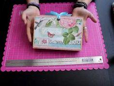 Presentación Recetario de Scrapbooking Botanical Tea Bellaluna crafts Scrapbooking - YouTube
