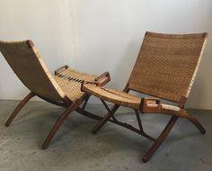 Hans Wegner Folding Chairs by Johannes Hansen